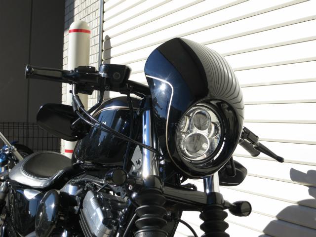 アッパーカウル&LEDヘッドライト