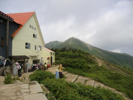 種池山荘から爺ヶ岳南峰
