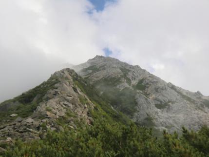 六万石から甲斐駒ヶ岳