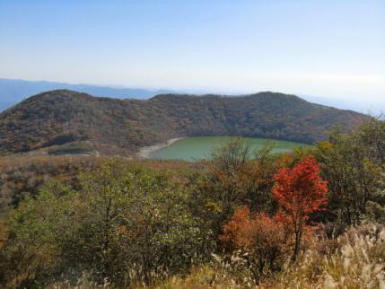 地蔵岳と長七郎山