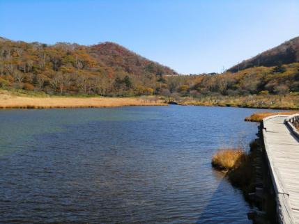 覚満渕から篭山・鳥居峠