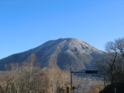 見晴山の下から黒檜山