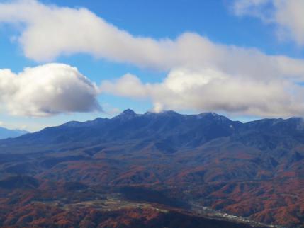 赤岳、雲がとれた