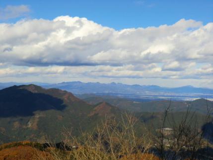 榛名山から小野子、子持山
