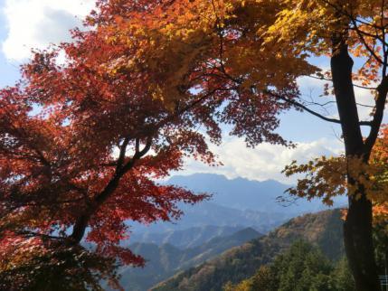 城峯神社から両神山