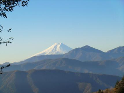 富士山が見えてきた