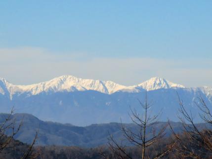 石尾根から北岳、間ノ岳