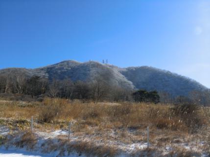 新坂平から地蔵岳