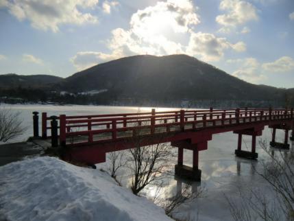 赤城神社から地蔵岳