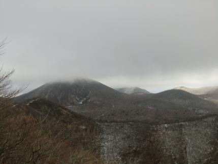 ひさし岩から地蔵岳と後に駒ヶ岳