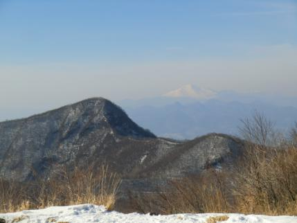 荒山と浅間山