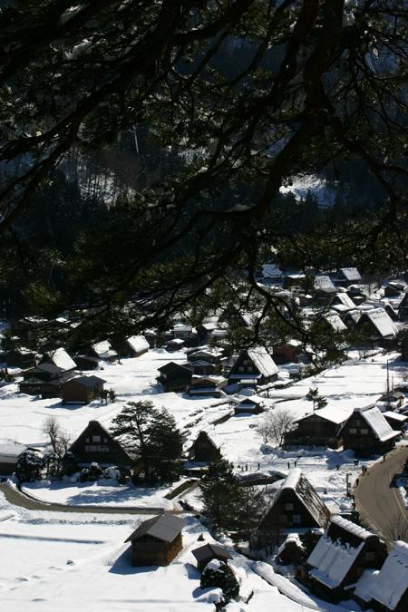 長く感じる冬の季節の中に感じる春の息吹~日本の原風景を思い起こさせる世界遺産 白川郷~ゆっくりとですが確実に春の訪れがやってまいります ②