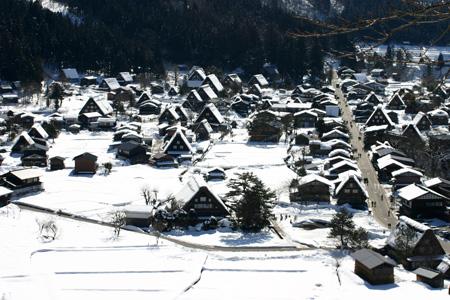 長く感じる冬の季節の中に感じる春の息吹~日本の原風景を思い起こさせる世界遺産 白川郷~ゆっくりとですが確実に春の訪れがやってまいります ③