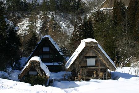 長く感じる冬の季節の中に感じる春の息吹~日本の原風景を思い起こさせる世界遺産 白川郷~ゆっくりとですが確実に春の訪れがやってまいります ④