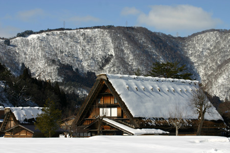 長く感じる冬の季節の中に感じる春の息吹~日本の原風景を思い起こさせる世界遺産 白川郷~ゆっくりとですが確実に春の訪れがやってまいります ⑤