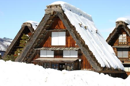 長く感じる冬の季節の中に感じる春の息吹~日本の原風景を思い起こさせる世界遺産 白川郷~ゆっくりとですが確実に春の訪れがやってまいります ⑥