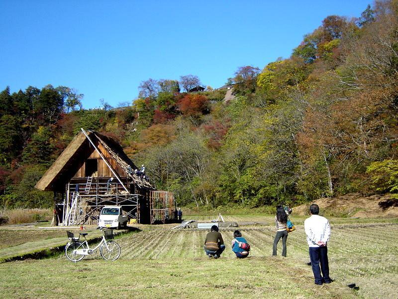 秋深まる世界遺産 白川郷の風景 ⑥