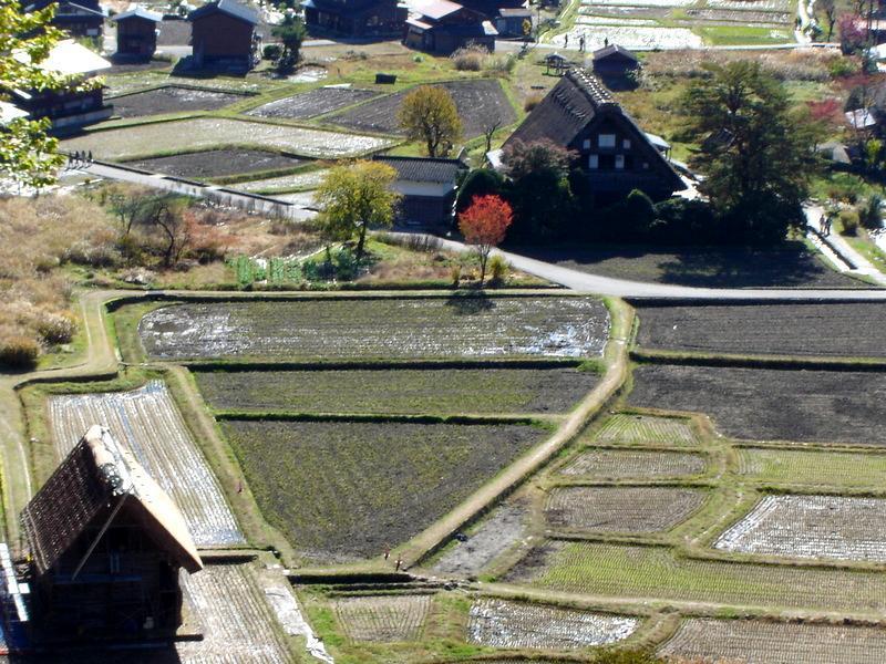 秋深まる世界遺産 白川郷の風景 ⑦