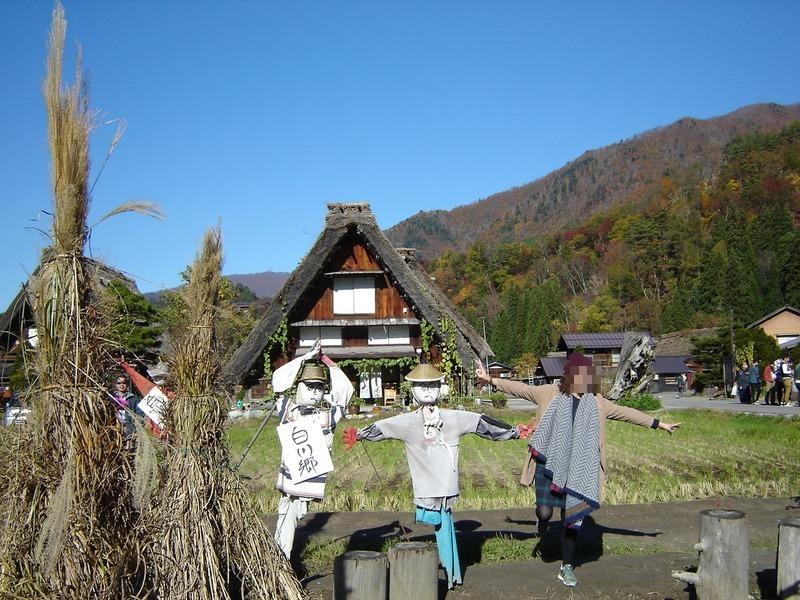 紅葉まっさかりの秋と雪景色が楽しめる季節!秋から冬にかけての白川郷は四季を感じられるよ ⑪