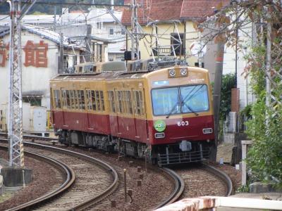 旧別所駅へ600型