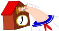 ハト時計化1