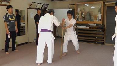 東京稽古39 2013年11月 杖で崩す