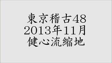 東京稽古48 2013年11月 健心流縮地
