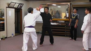 東京稽古57 2013年11月 手刀受け2
