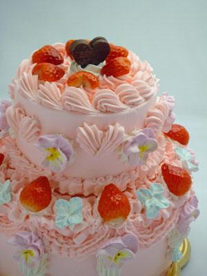 いちご姫なケーキ