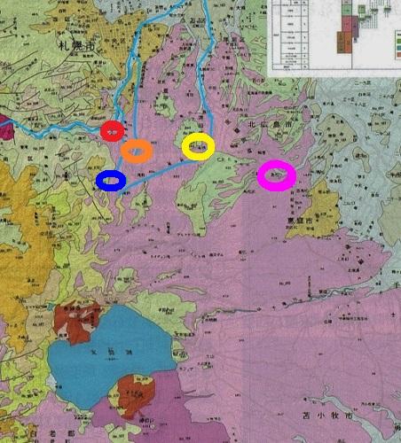 札幌軟石分布図