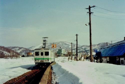 上砂川駅②