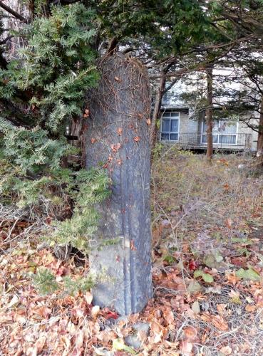 札幌軟石の門柱