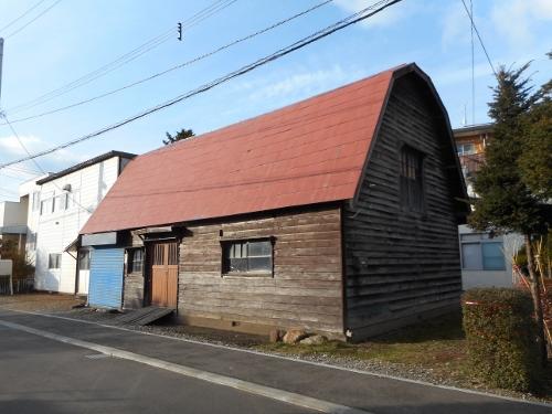 厚別中央 腰折れ屋根
