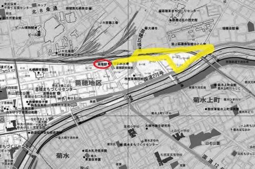 苗穂 地図