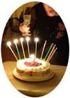 吉カリプラクティカ9月BDケーキ