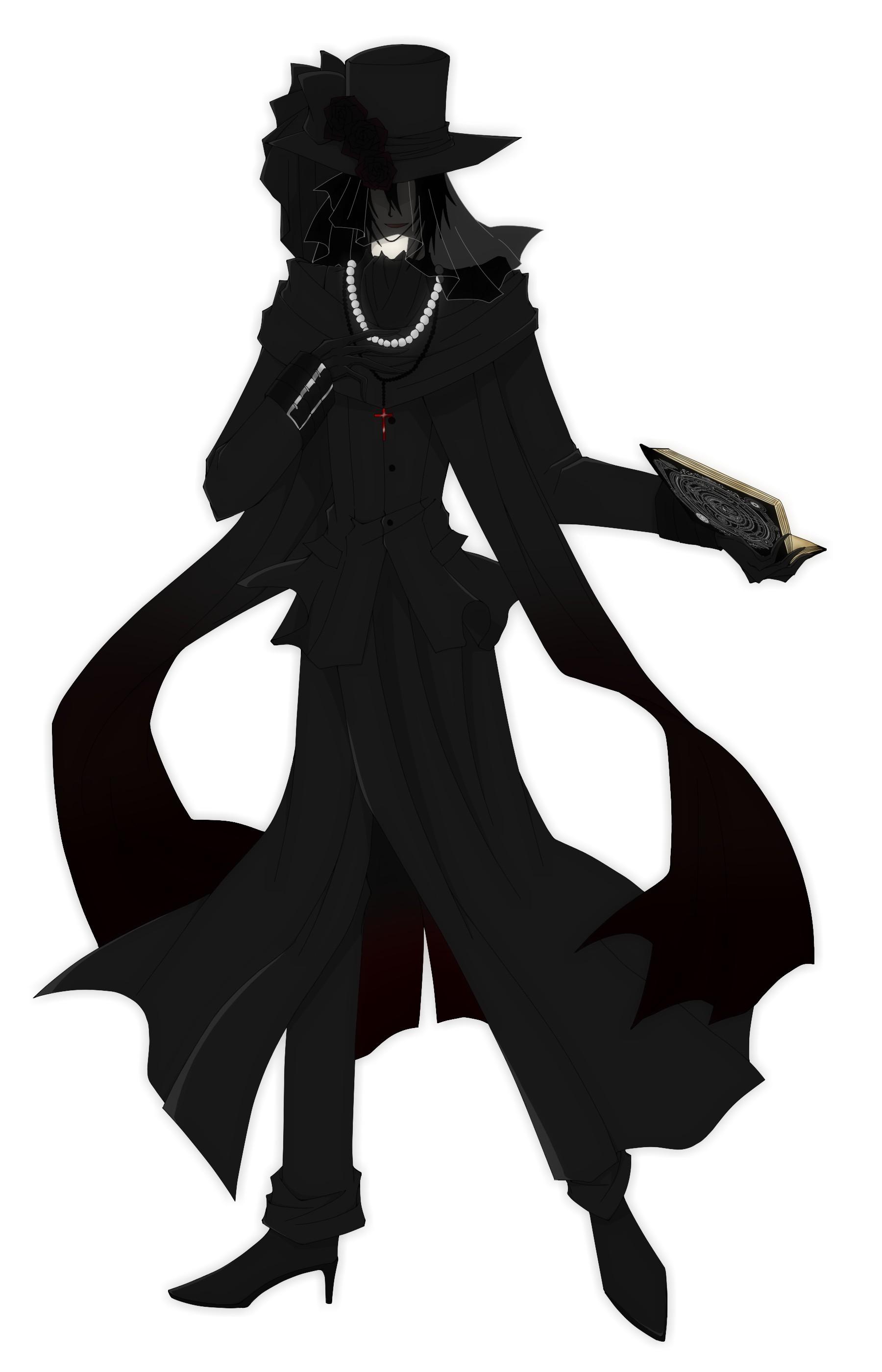 黒薔薇全身