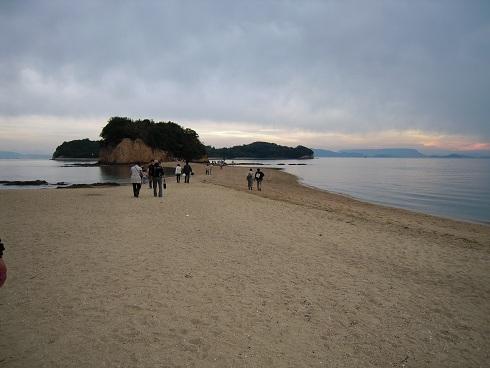 小豆島・エンジェルロード (2)