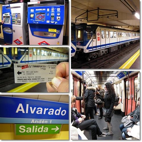 スペイン旅行・Metro