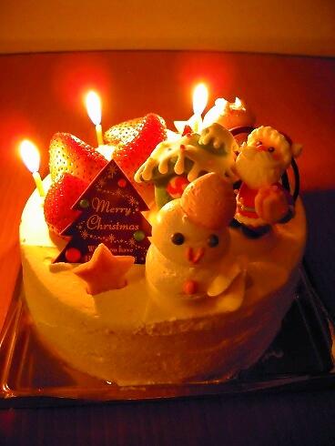 2012'クリスマスケーキ
