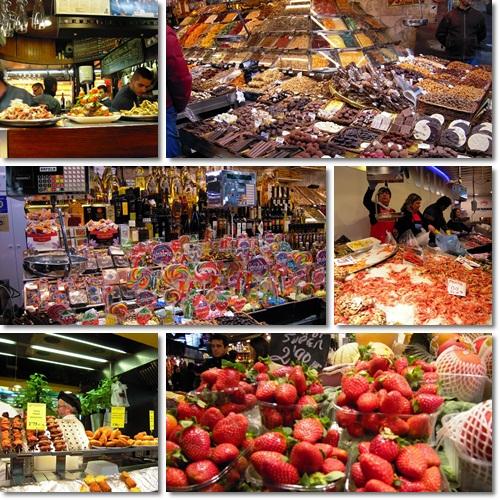 バルセロナ(サン・ジュセップ市場)
