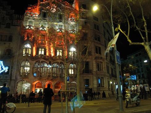 バルセロナ(カサ・バトリョ)