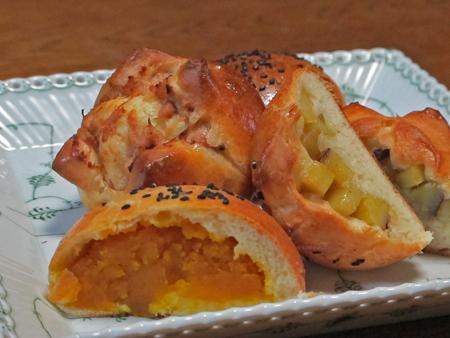 かぼちゃパン5