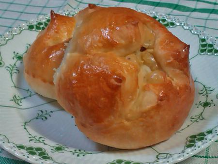 初焼き チーズパン