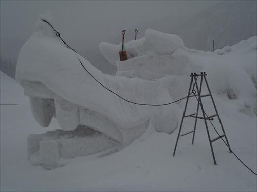 スキー場雪像2014年2月8日 (1)_R