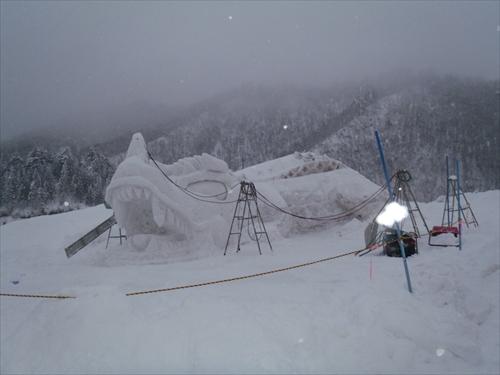 スキー場雪像2014年2月8日 (11)_R