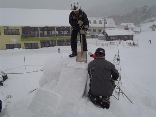 スキー場雪像2014年2月8日 (8)_R