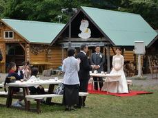 結婚式風景 ヨコ