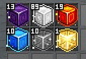 6種のキューブ