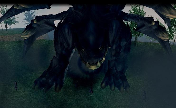ブラックドラゴン襲来