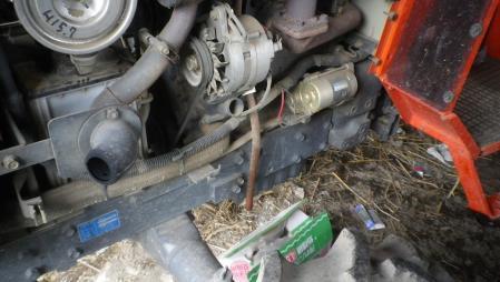 トラクターの整備4